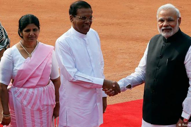 Sri Lanka's President visits India