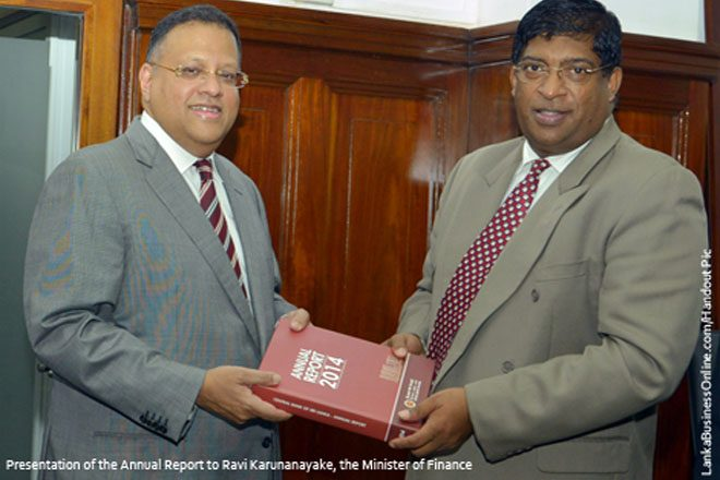 Sri Lanka economy grows 7.4-pct in 2014; fiscal deficit increases: CB Annual Report