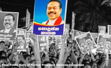 Sri Lanka's Rajapakse regime used Rs375mn state lottery money for election campaign
