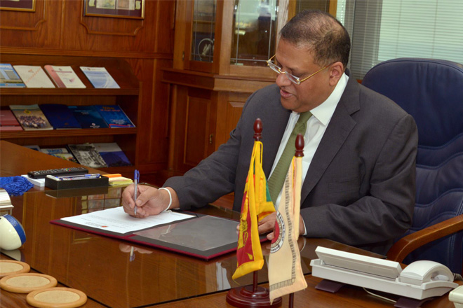 Sri Lanka govt in informal consultation with IMF: CB Governor