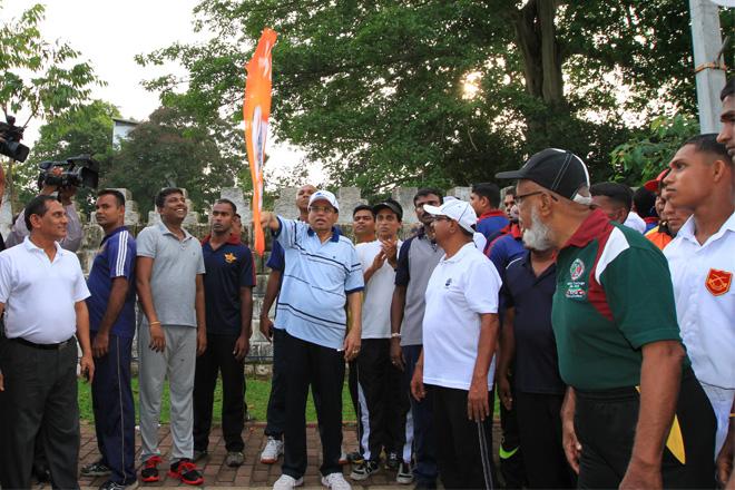 "The ""Jawana Shakthi Yaathra"" marathon"