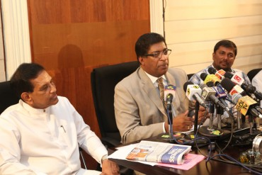Sri Lanka government revenues up 8-pct in the first quarter of 2015: Finance Minister