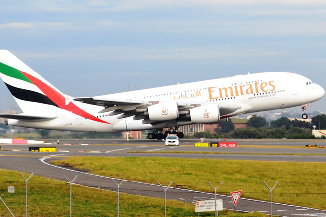 Emirates airlines Dubai bound flight makes emergency landing in Sri Lanka