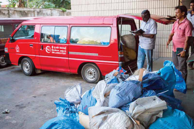 Sri Lanka postal service records Rs3bn loss last year