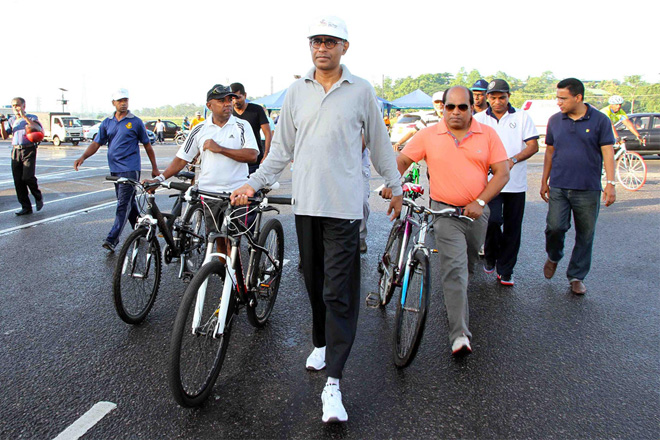 Cycling for energy conservation