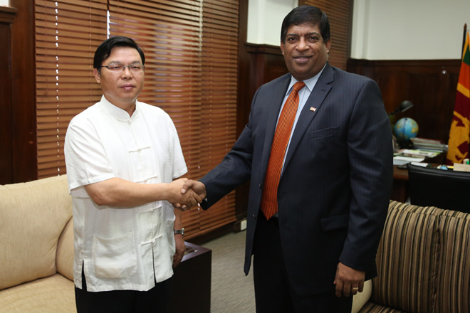 Finance Minister meets Chinese and Czech Republic Ambassadors