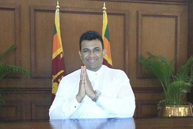 Ranjan thanks Maithri for allowing Mahinda to contest under UPFA