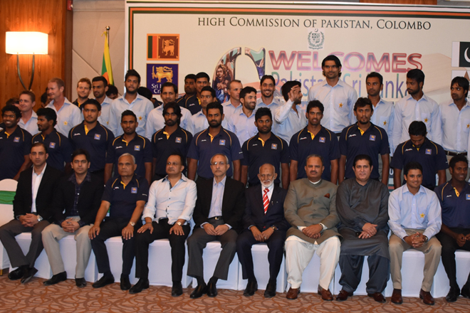 Pakistan High Commissioner hosts Eid dinner for cricketers
