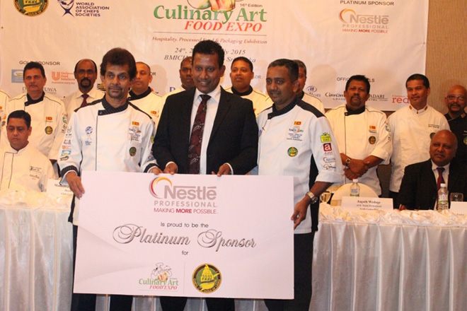 Nestlé Professional takes lead as Platinum Sponsor for Culinary Art 2015