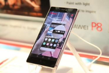 Huawei launches its flagship smartphone – P8