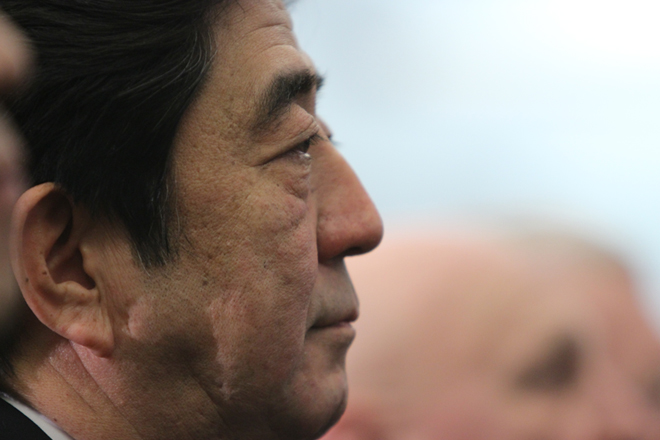 Japanese PM Shinzo Abe Congratulates PM Ranil Wickremasinghe