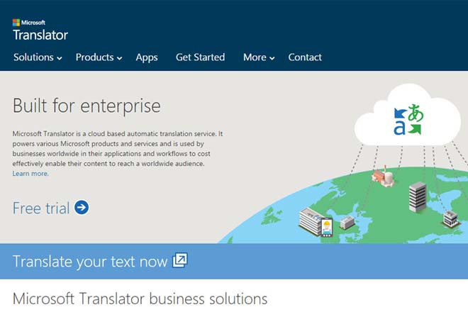 Microsoft enters Google territory with launch of new translator app