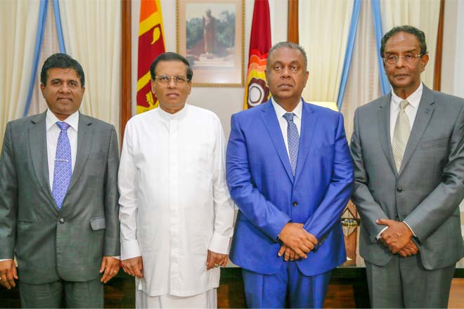 Sri Lanka appoints three cabinet ministers