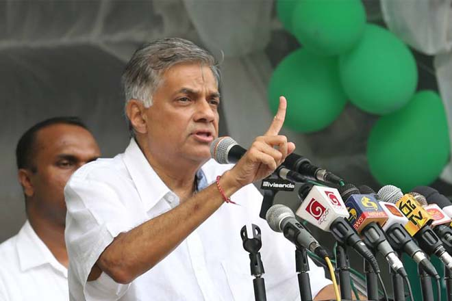 UNP ready for elections: PM at May Day rally