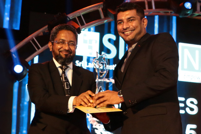 SriLankan Airlines flies high at SLIM NASCO awards 2015