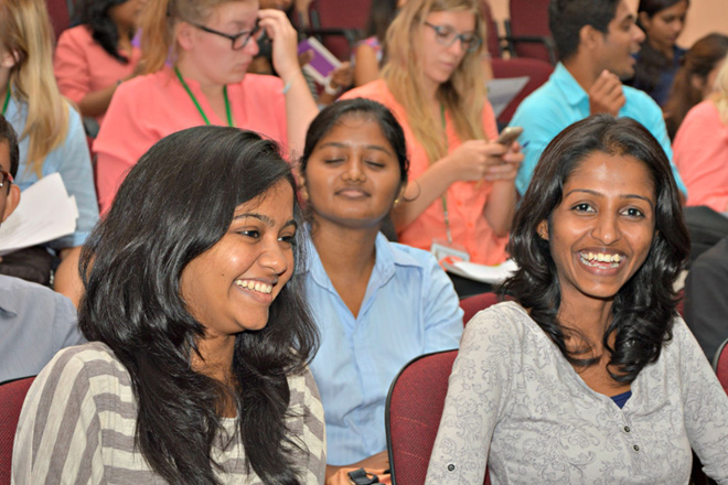 International Youth Day 2015 Celebrations in Colombo