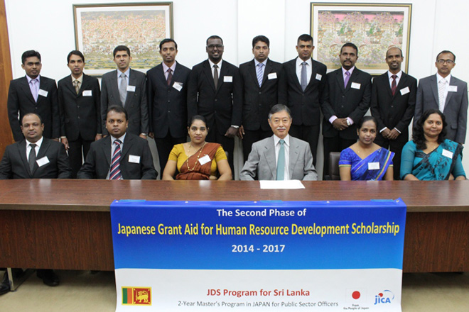 JDS Scholars leave for Japan