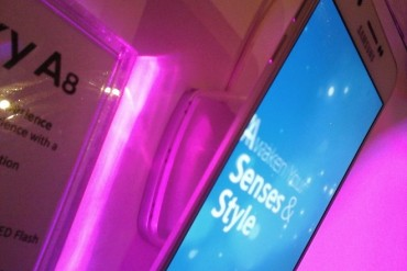 Samsung launches Galaxy A8, smartphone sales grow 150 pct