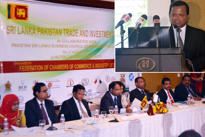 Sri Lanka Pakistan Trade and Investment Forum 2015