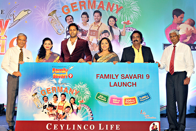 Germany adds zest to Ceylinco Life's 'Family Savari 9' promotion