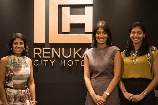 Shibani Thambiayah (Jt Managing Director), Arnila Thambiayah (Jt Managing Director), and Niruja Thambiayah (Director)