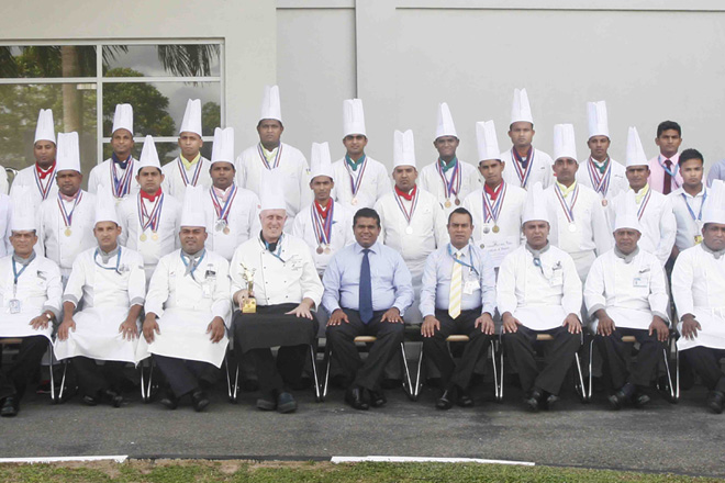 SriLankan Caterings' Chefs top medals list at Culinary Expo 2015