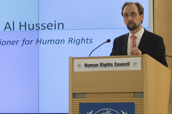 UN Human Rights commissioner commends Sri Lanka's progress