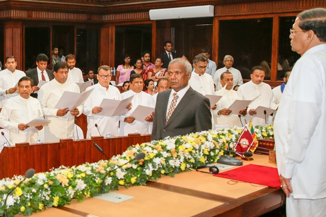 Sri Lanka's jumbo cabinet promises exciting new policy initiatives