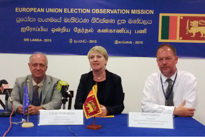 EU Observation Mission distributes equipment to Sri Lankan civil society