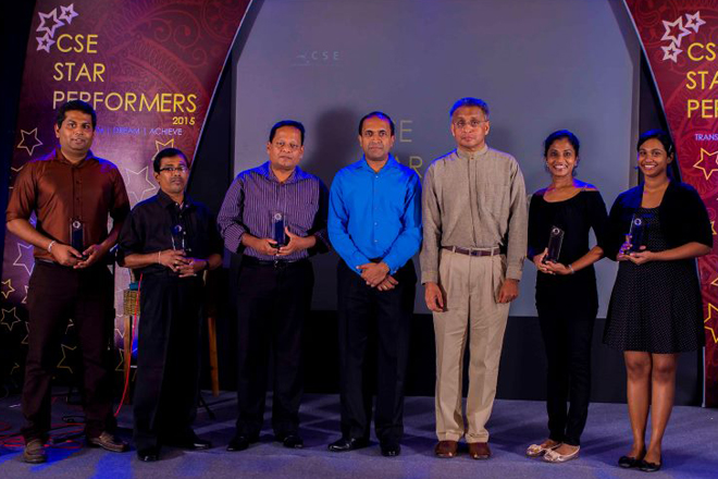 CSE Star Performers 2015 awards
