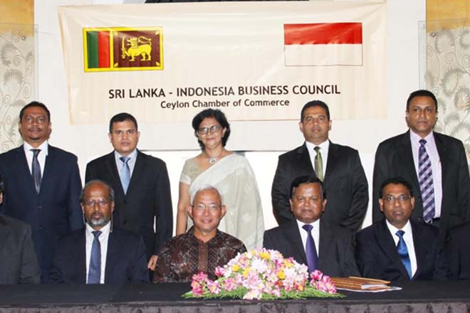 Sri Lanka, Indonesia trade increased 32-pct in 2014