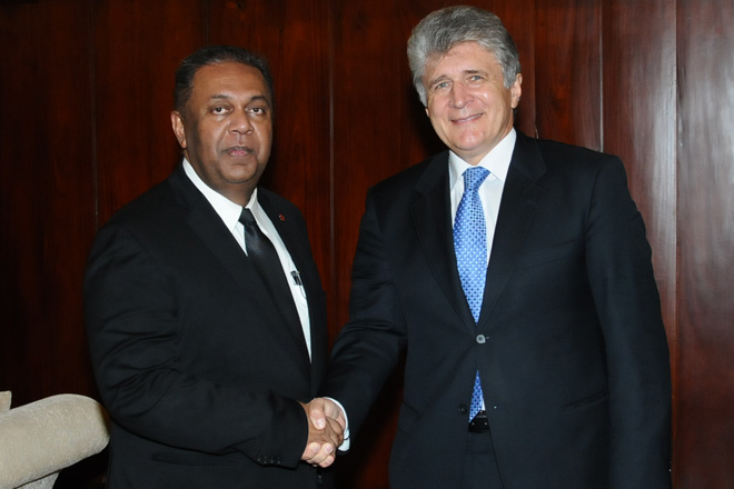 FM meets UN Assistant Secretary General for Political Affairs