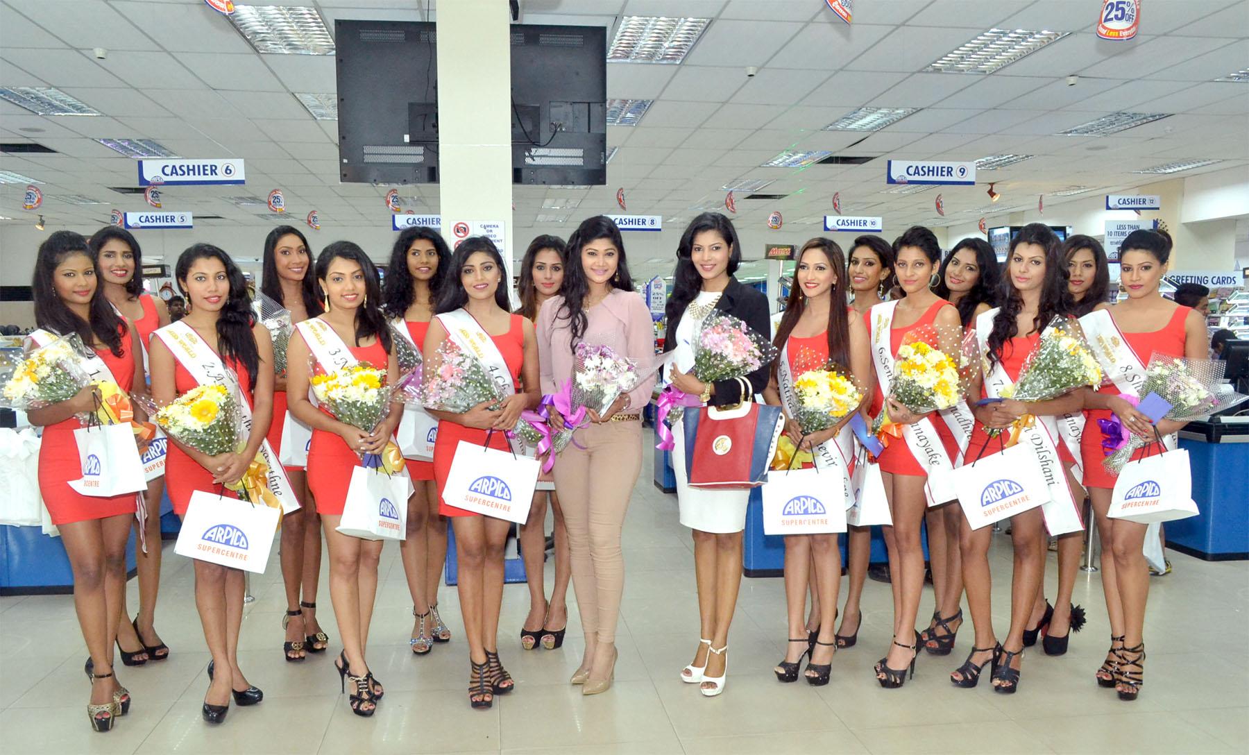 Miss Sri Lanka 2015 visit - 1