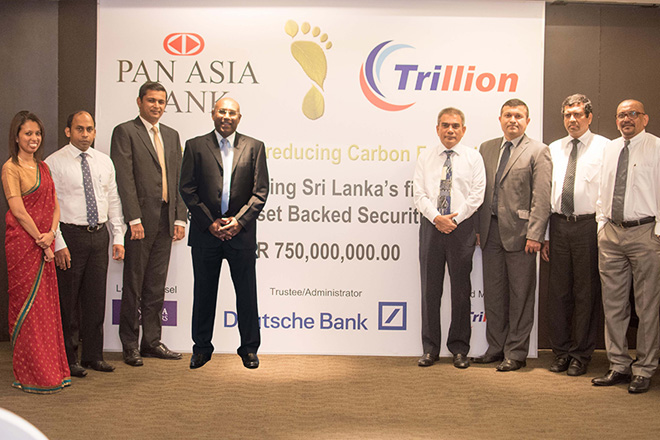 Trillion lead manages Sri Lanka's first 'Green' Asset Backed Securitization