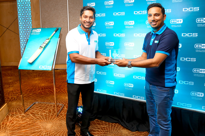 ESET appoints Kumar Sangakkara as Brand Ambassador in Sri Lanka