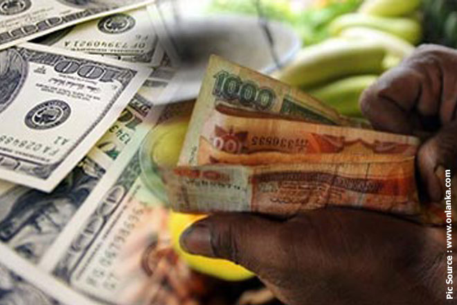 Sri Lankan rupee down on importer dollar demand