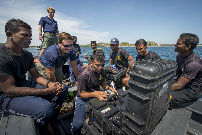 US underwater demining assistance improves safety