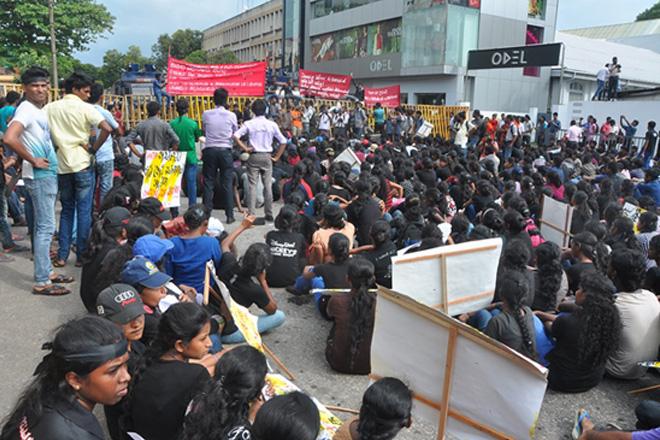 HNDA-Protest