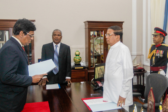 Acting Chief Justice takes oaths