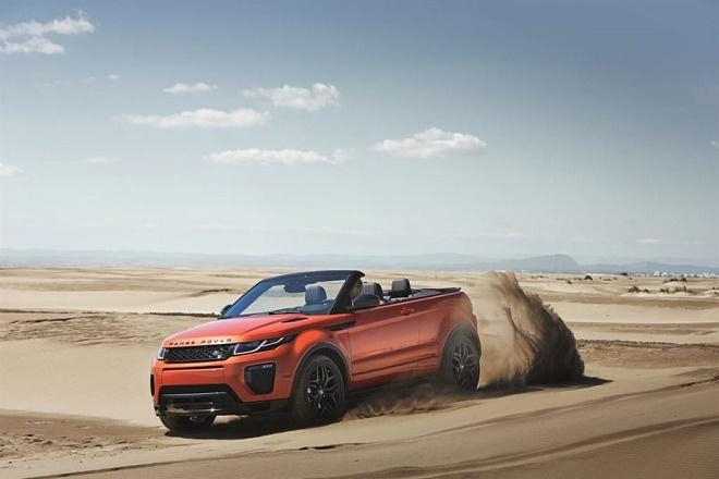 Range Rover unveils Evoque convertible