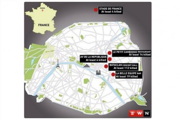 At least 127 people killed in Paris shootings, blasts