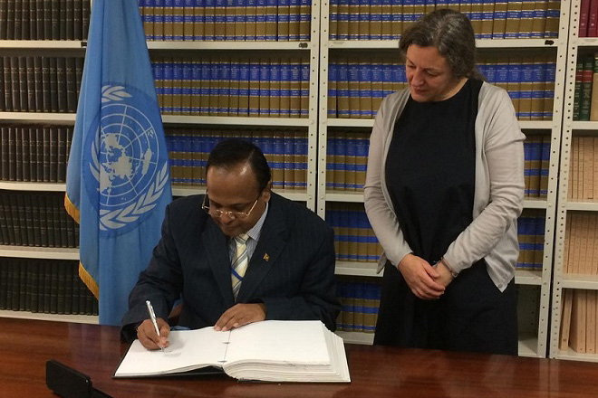 Sri Lanka signs International Convention on Enforced Disappearances