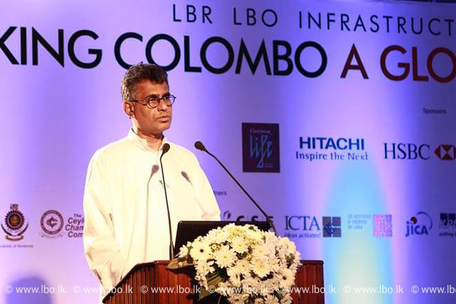 Speech by Chief Guest Patali Champika Ranawaka – LBR LBO Infrastructure Summit 2015