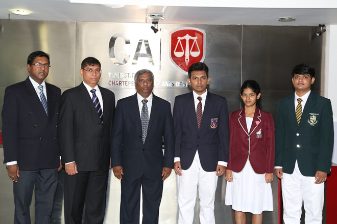 CA Sri Lanka awards scholarships for top A level achievers