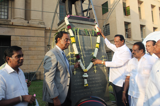 Sir Ponnambalam Arunachalam Remembered
