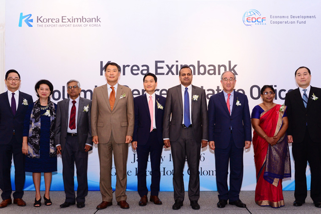 Korea EXIM Bank opens representative office in Sri Lanka