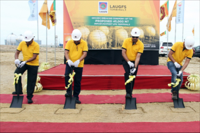 USD80mn LAUGFS LPG Terminal takes-off ground