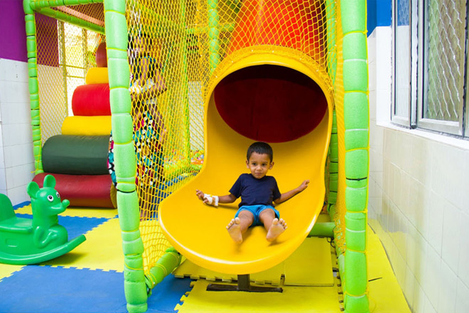 ODEL donates its Kids' play area to Lady Ridgeway Children's Hospital