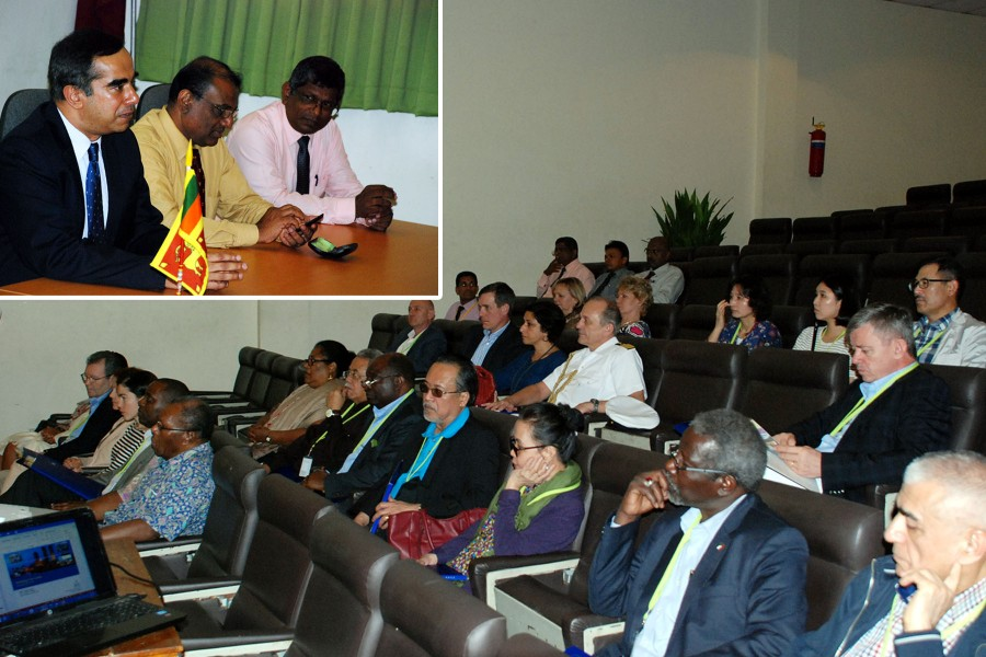 BOI briefs non-resident ambassadors, defence attaches at Koggala Zone