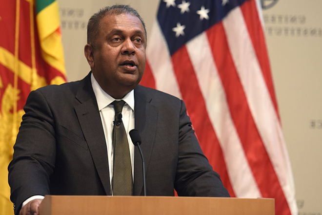 US calls on Sri Lanka to join Indo-Pacific Economic Corridor